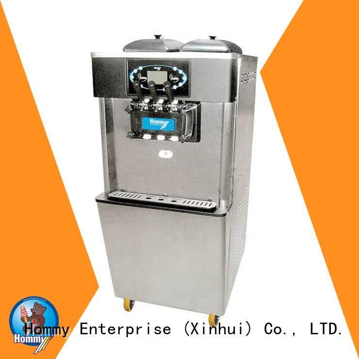 Hommy hm701 ice cream machine price manufacturer for food shop