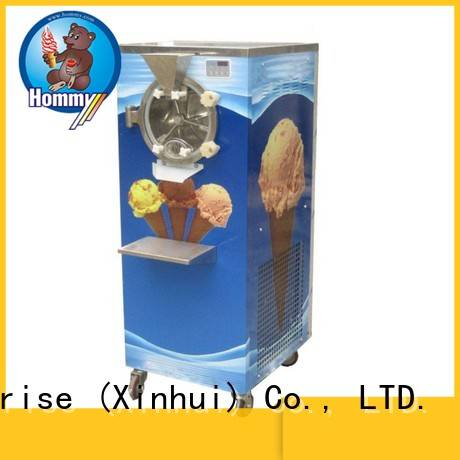 Hommy low vibration ice cream dispenser manufacturer for ice cream shop