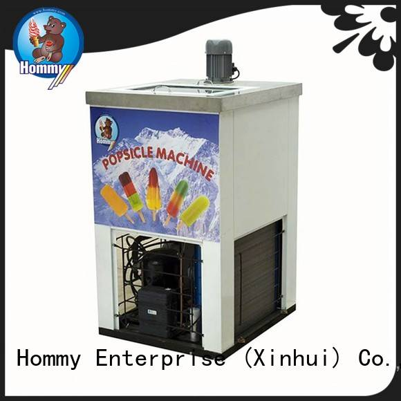 Hommy latest popsicle making machine wholesale for convenient store