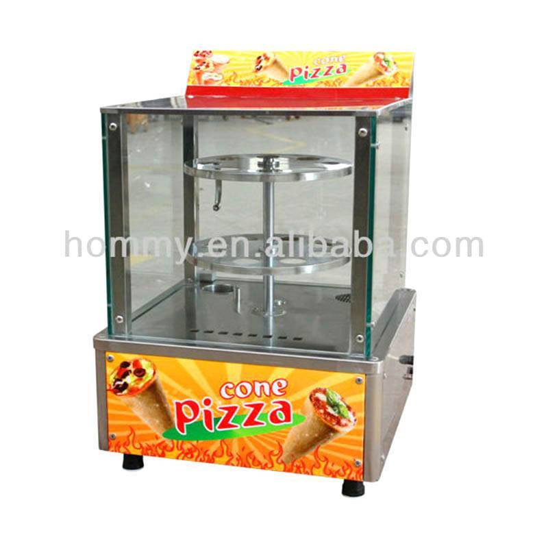 Electric Cone Pizza Warmer Cabinet/Cone Pizza Display Warmer