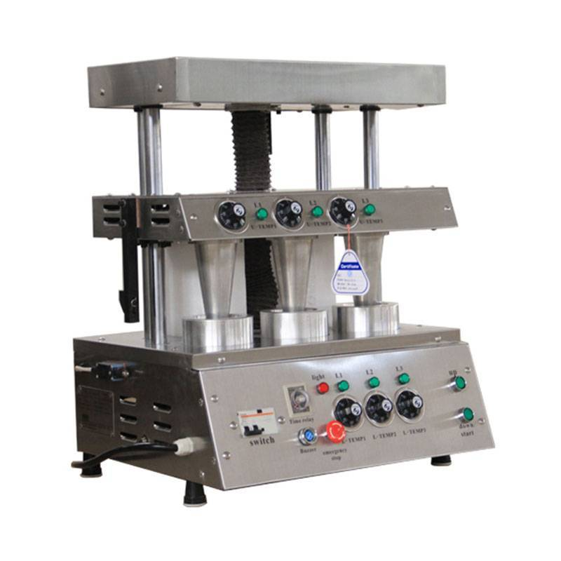 Pizza cone press machine&pizza cone mold machine
