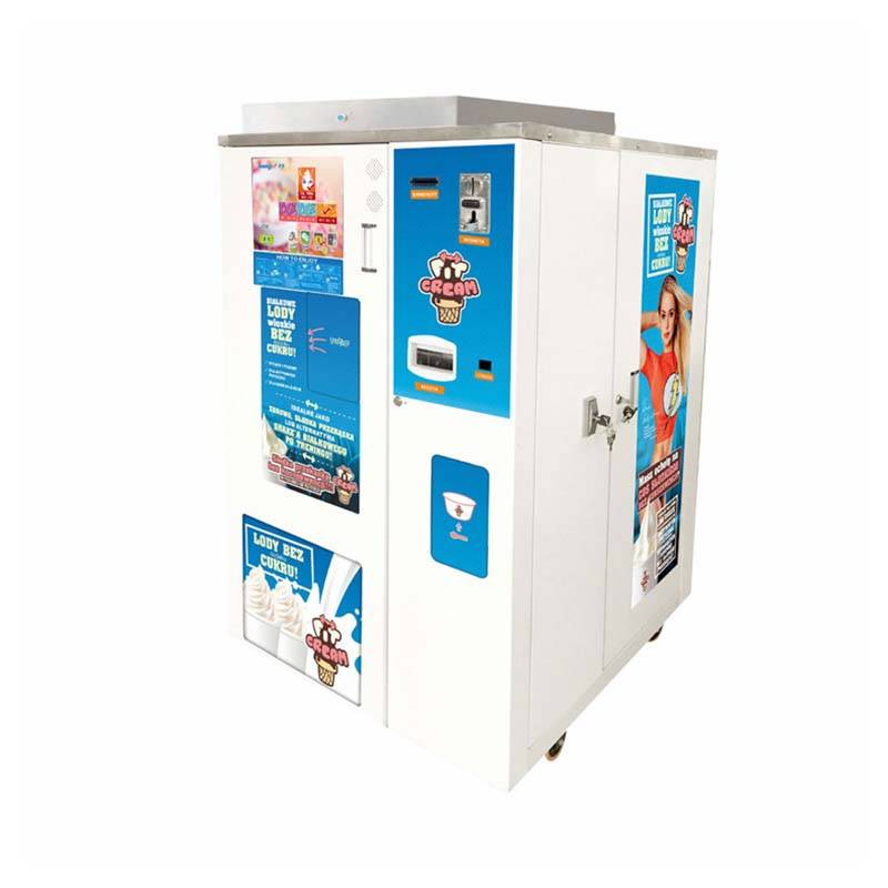 Vending Ice Cream Machine Manufacturer