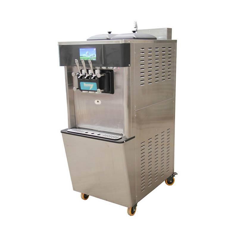 Soft ice cream machine commercial