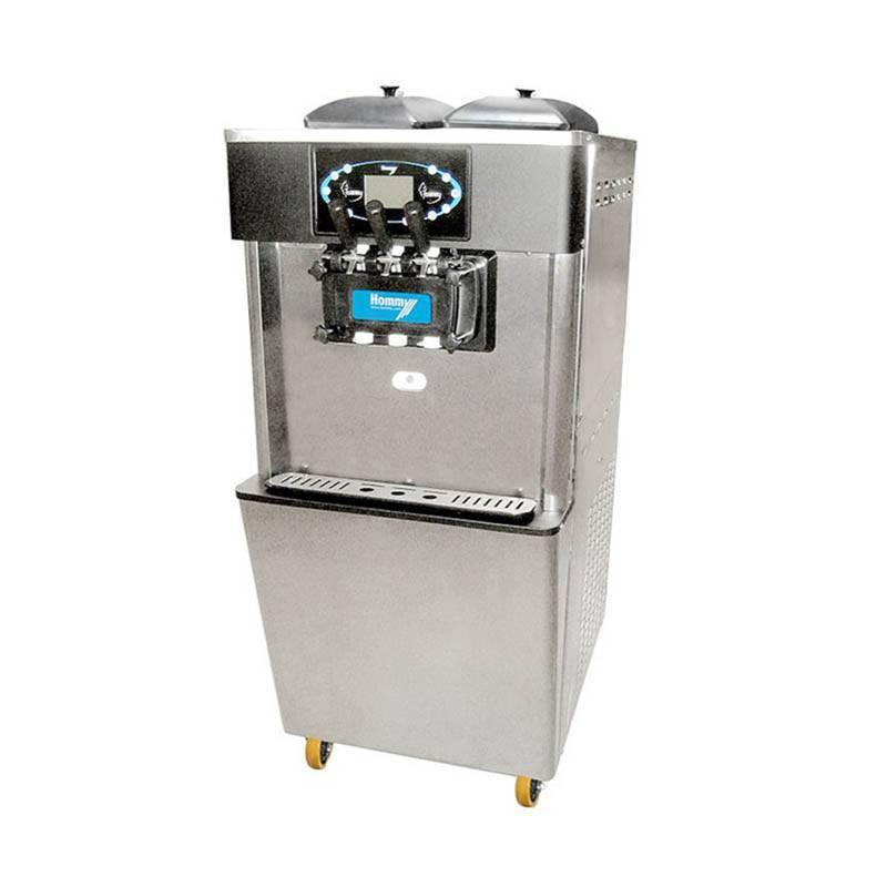 2+1 Flavors Soft Serve Freezer&soft ice cream machine
