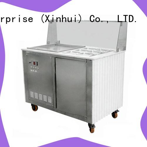 Hommy low-temperature effect ice cream maker machine supplier for outdoor