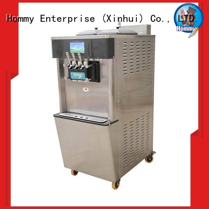Hommy commercial soft serve ice cream machine for sale wholesale for snack bar