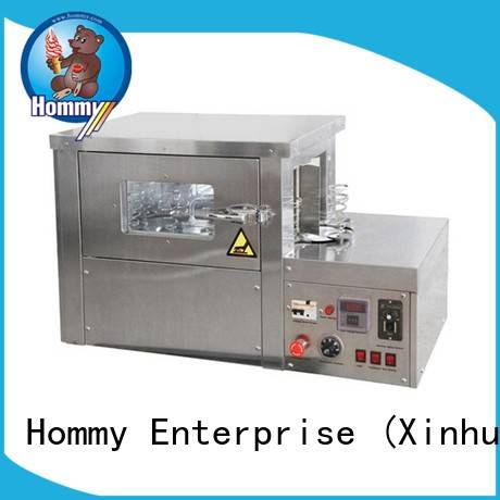 Hommy pizza cone machine manufacturer for ice cream shops
