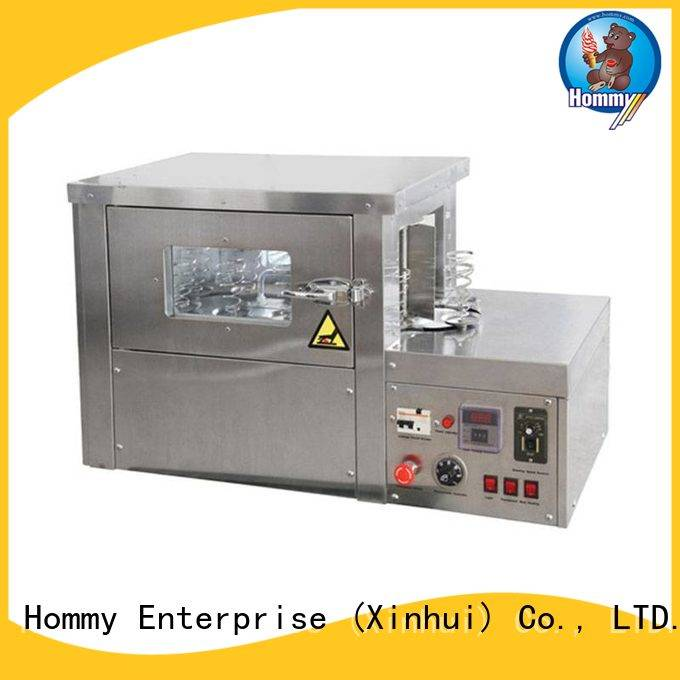 Hommy pizza cone machine electric supplier for ice cream shops