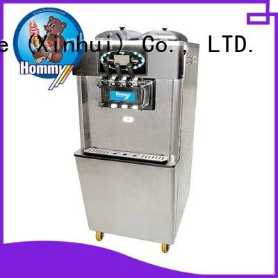 Hommy unreserved service commercial ice cream machine supplier for supermarket