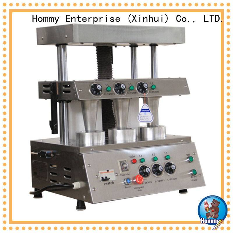 Hommy pizza cone machine supplier for store