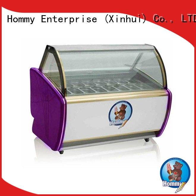 China ice cream display counter freezer gelato factory directly sale for display ice cream