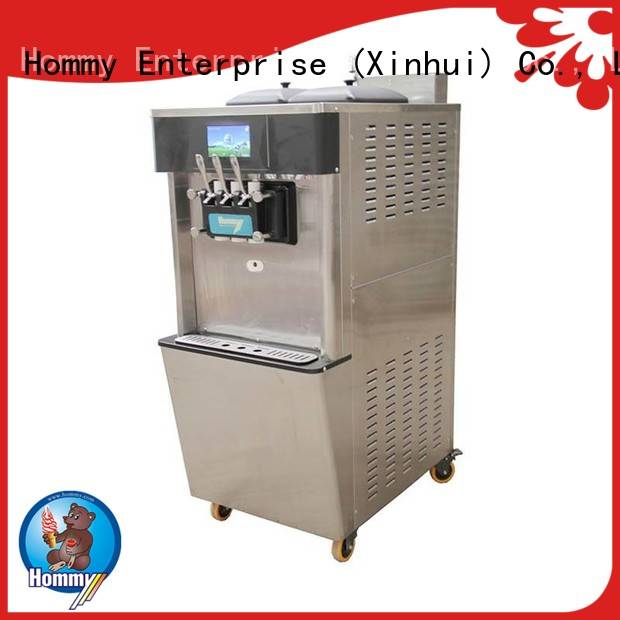 Hommy unrivaled quality ice cream machine price solution for snack bar