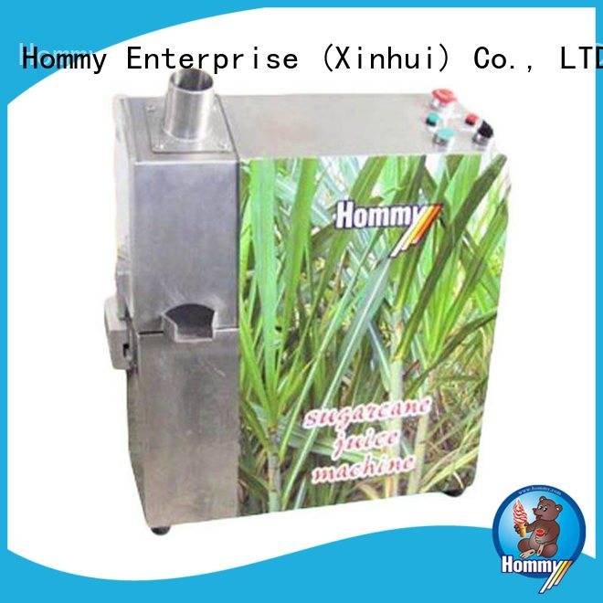 Hommy hygienic sugar cane juicer machine supplier for snack bar
