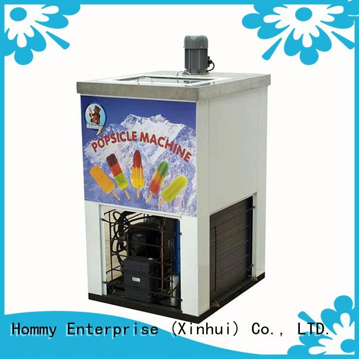 Hommy high quality popsicle maker machine manufacturer for convenient store