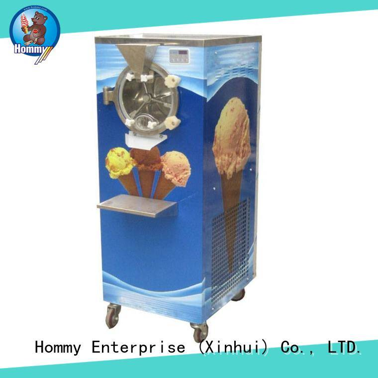 Hommy sturdy construction ice cream machine for sale wholesale for coffee shop
