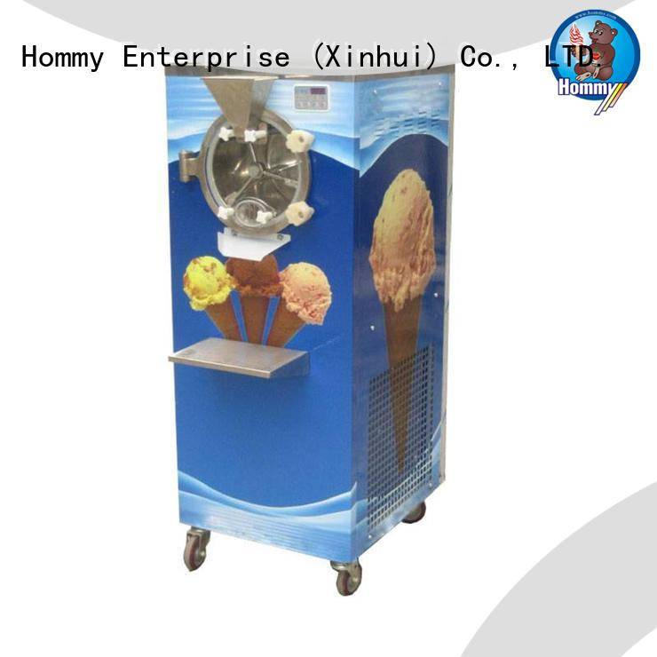 Hommy low vibration gelato ice cream machine wholesale for ice cream shop