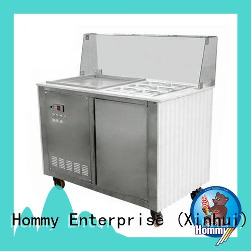 Hommy highly-efficient ice cream machine for sale wholesale for road house