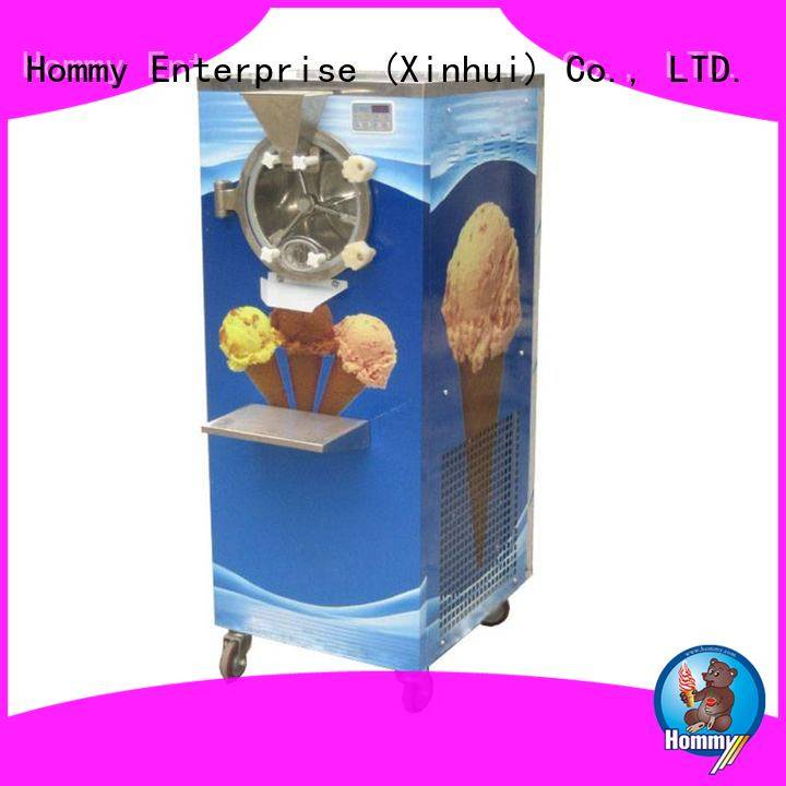 Hommy no slippage ice cream dispenser manufacturer for long life use
