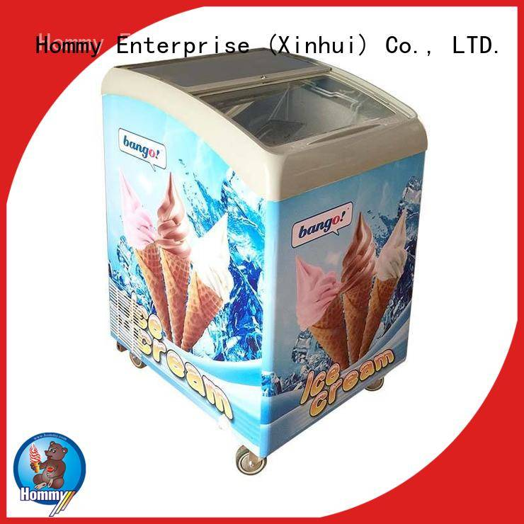 multifunctional popsicle freezer auto defrost supplier for supermarket