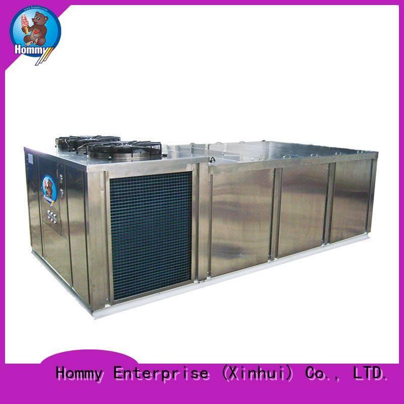 Hommy unique design ice block machine supplier for hotels
