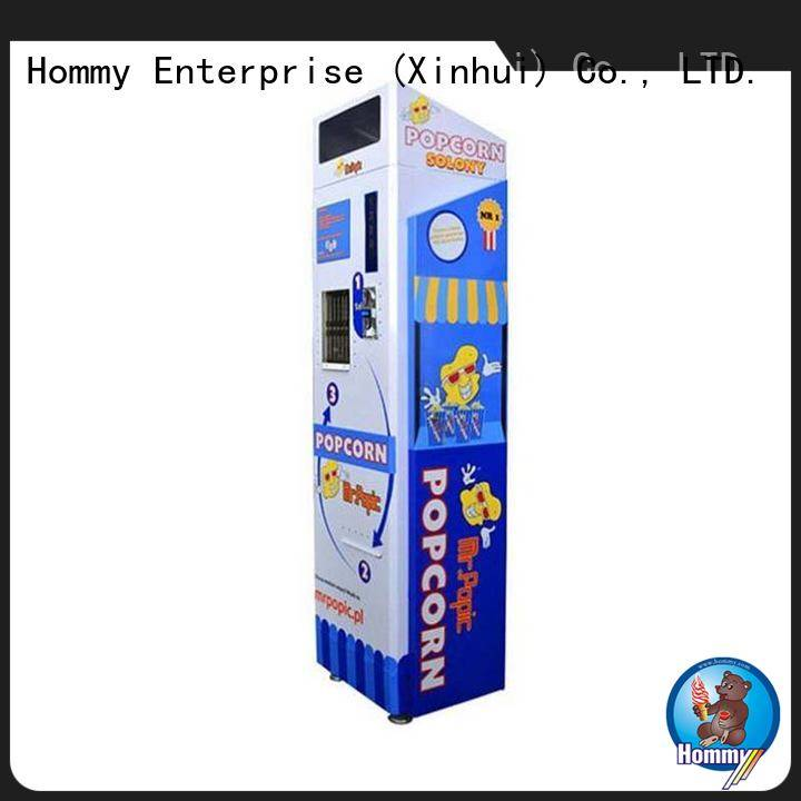 Hommy top vending machine companies supplier for restaurants
