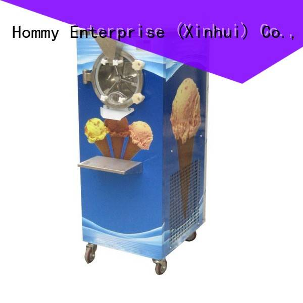 Hommy sturdy construction commercial hard ice cream maker fast shipping for coffee shop