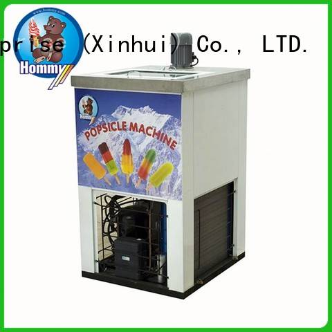 Hommy high quality ice lolly machine wholesale for convenient store