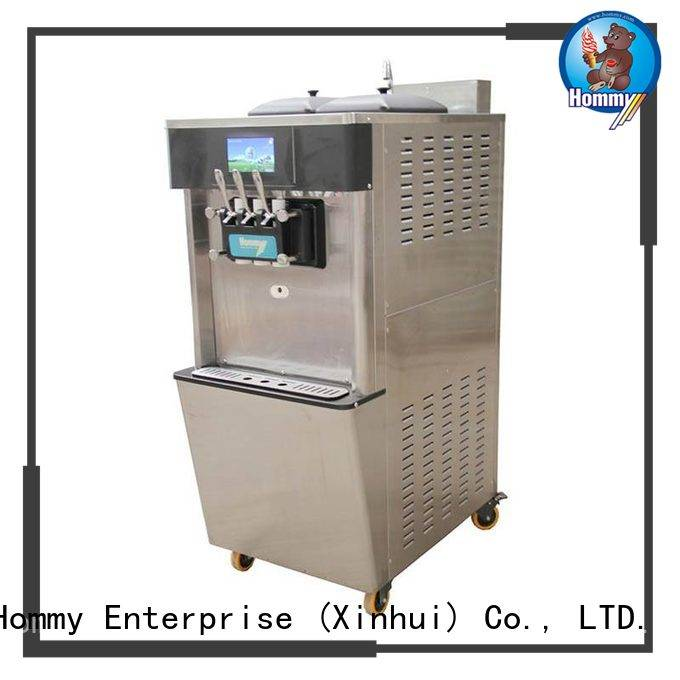 Hommy hm701 commercial ice cream machine manufacturer for food shop