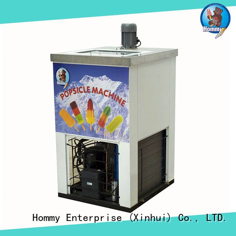 Hommy high quality popsicle maker machine supplier