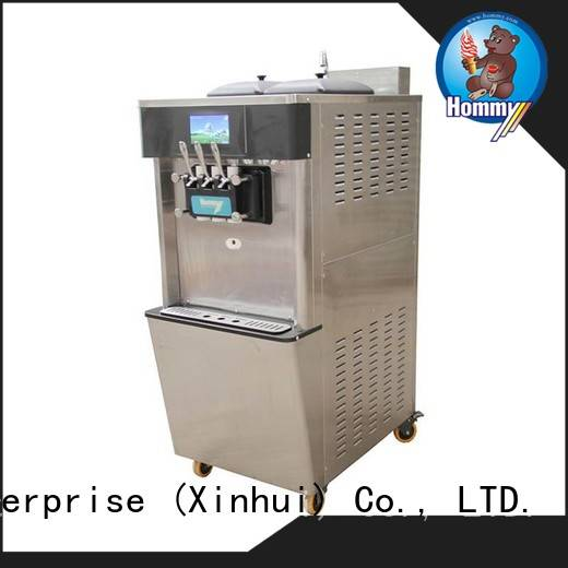 Hommy soft serve ice cream machine for sale wholesale for food shop