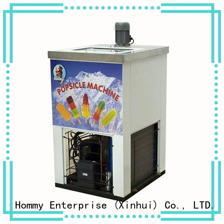 Hommy high quality ice lolly machine factory