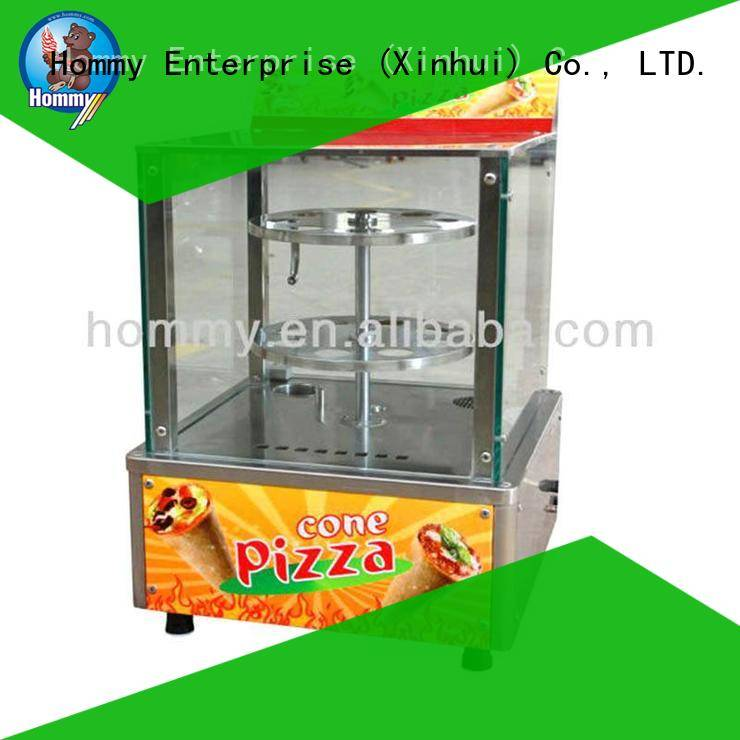 Hommy electric pizza cone oven wholesale for ice cream shops