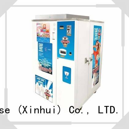 most popular ice cream vending machine supplier for beverage stores