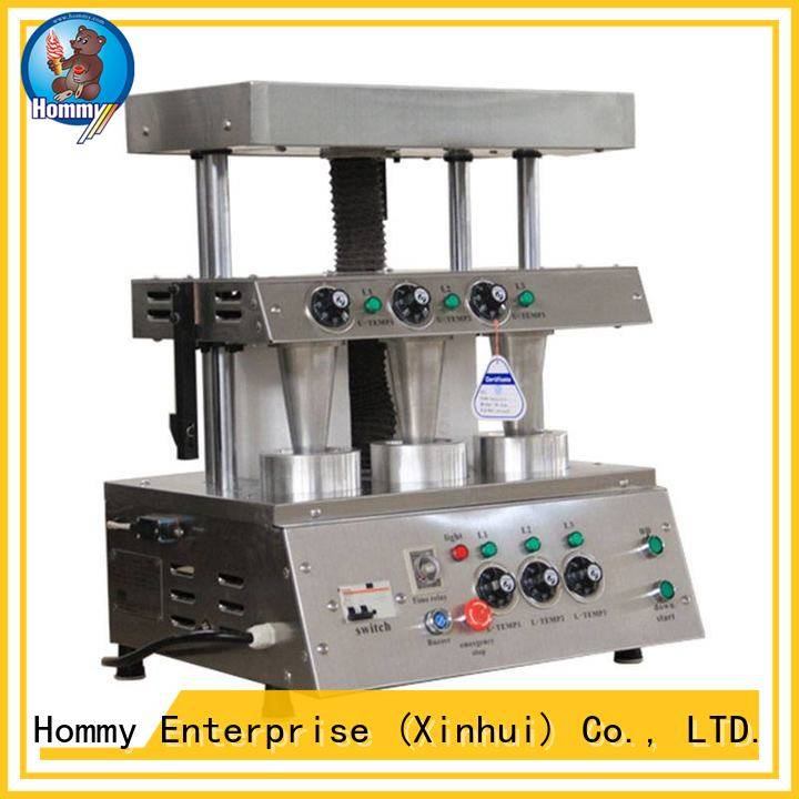 Hommy compact structure pizza cone oven famous brand for store