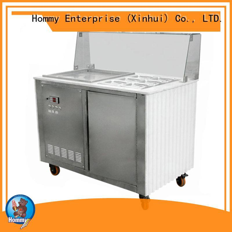 Hommy eco-friendly ice cream maker machine wholesale for outdoor