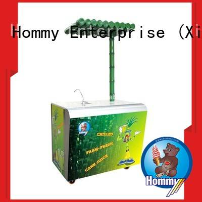 Hommy unreserved service sugarcane juice extractor wholesale for snack bar
