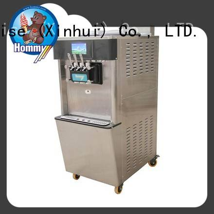 unreserved service ice cream machine price hm701 wholesale for snack bar