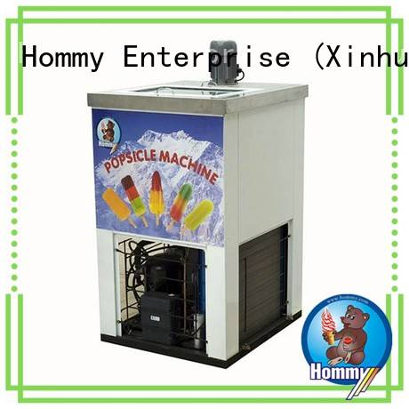 Hommy CE approved popsicle making machine manufacturer for convenient store