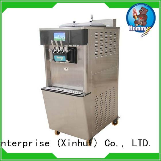 professional ice cream machine price supplier for snack bar