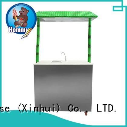 Hommy revolutionary sugarcane juice extractor supplier for snack bar