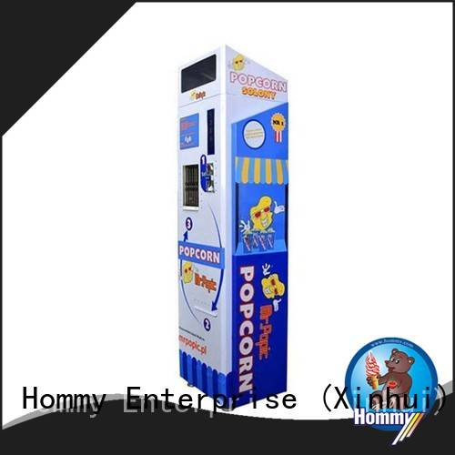 Hommy automatic ice cream vending machine supplier for restaurants