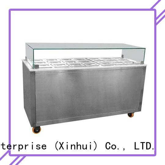 Hommy China ice cream display counter wholesale for display ice cream