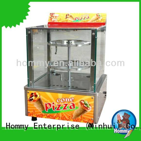 Hommy pizza cone machine supplier for ice cream shops
