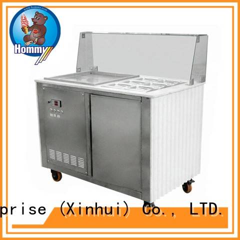 durable ice cream roll machine price low-temperature effect renovation solutions for outdoor