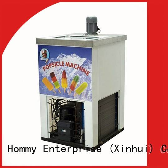 Hommy high quality popsicle making machine manufacturer for convenient store