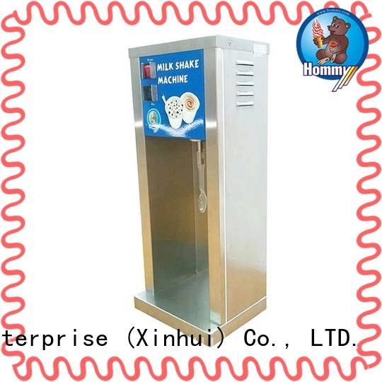 Hommy delicate appearance ice cream mixer machine wholesale for frozen drink kiosks
