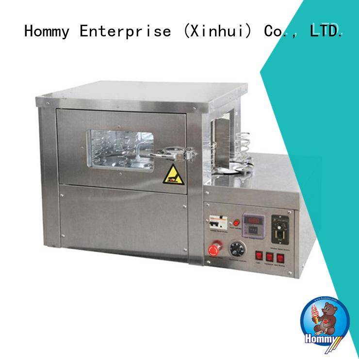 Hommy pizza cone machine electric famous brand for ice cream shops