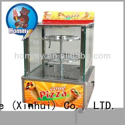 Hommy electric pizza cone machine supplier for store