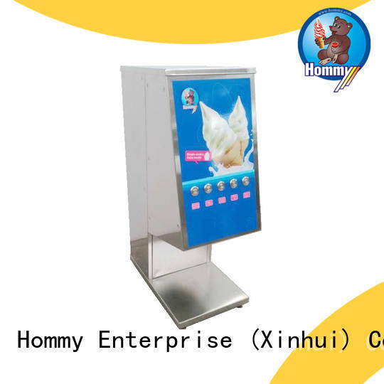 Hommy delicate appearance blizzard mixer wholesale for frozen yogurt shops