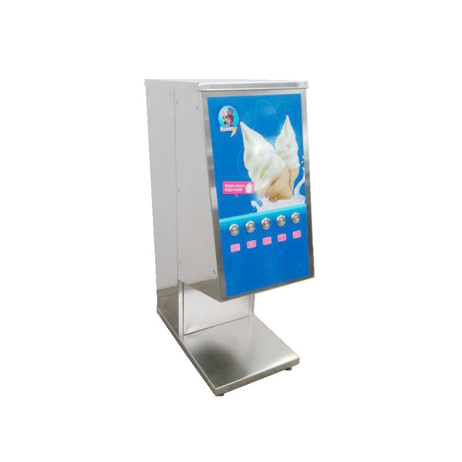 one shot ice cream machine& ice cream dispenser